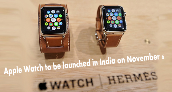 Apple Hermes Watch to be launched in India on November 6
