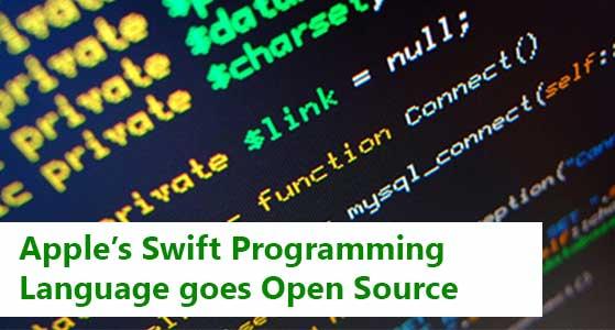 Apple's Swift Programming Language goes Open Source