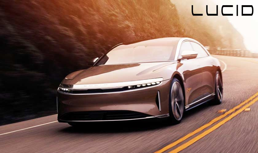 Lucid Motors reveals the final version of its all-electric Air sedan