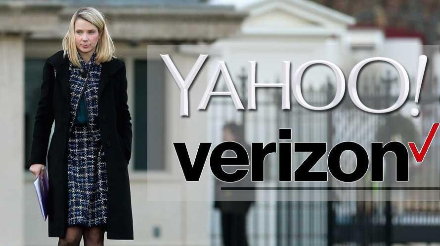 yahoo logs off verizon takes over