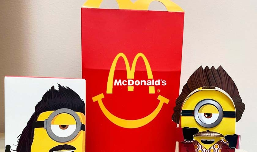 McDonald's promises to offer greener and sustainable Happy Meal toys worldwide by 2025
