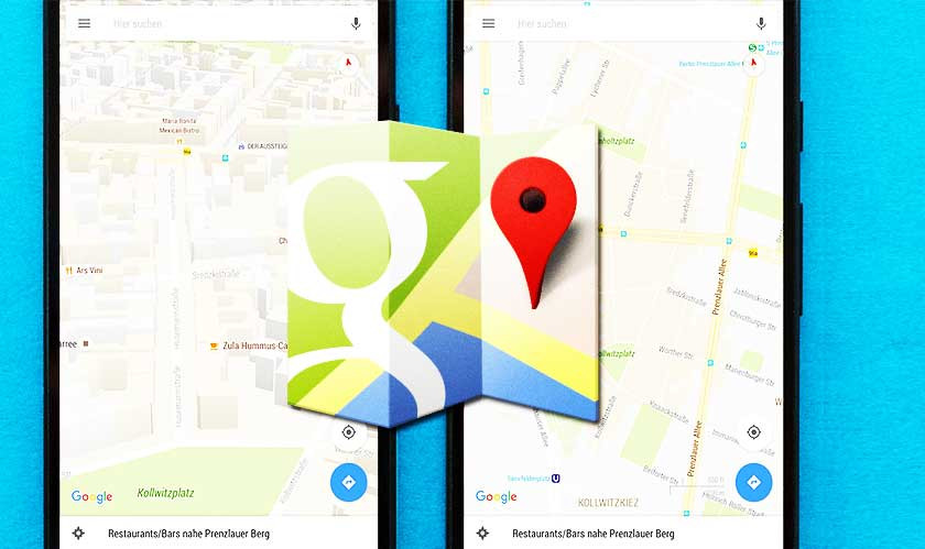 Google Maps gets a major design overhaul