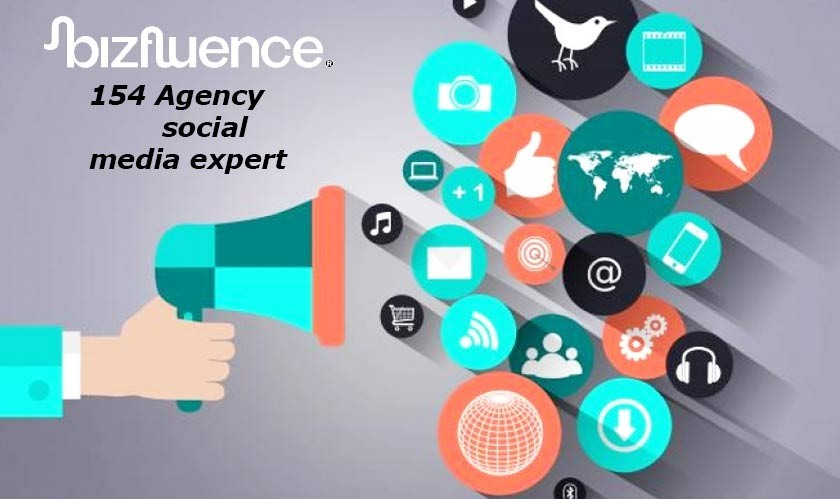 154 Agency is the social media expert for Bizfluence Inc
