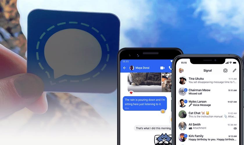 Signal now allows you to choose disappearing messages by default