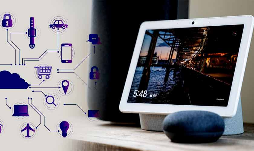 google stream transfer smart speaker iot