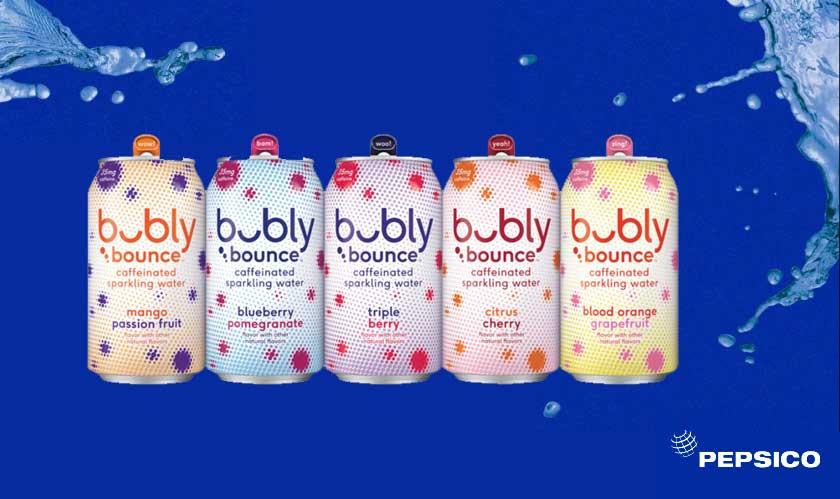 PepsiCo adds caffeinated sparkling water to its portfolio