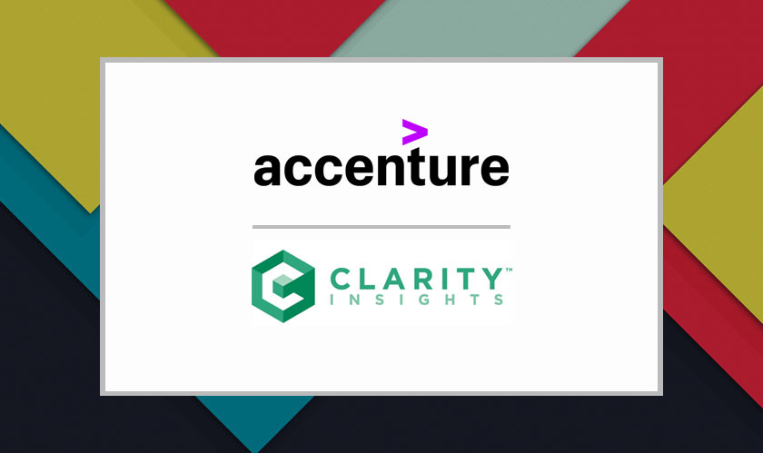 Accenture is acquiring Chicago based consultancy Clarity Insights