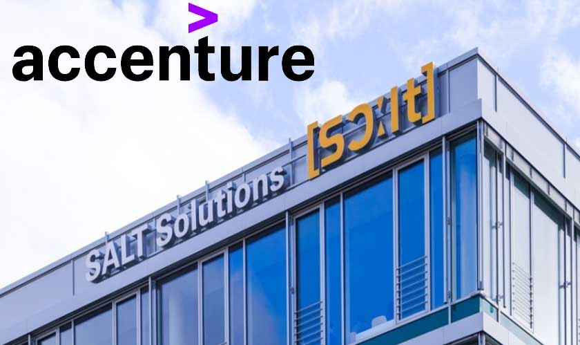 Accenture has agreed to acquire SALT Solutions AG