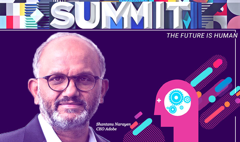"""Reality of today is that experiences rise above everything else"" Shantanu Narayen"