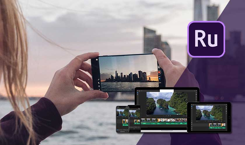 adobe premiere rush on android