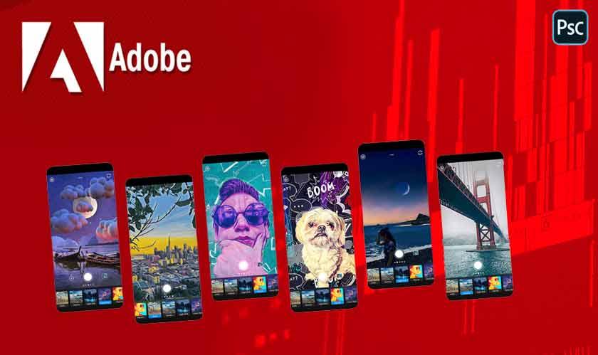 adobe releases photoshop camera app