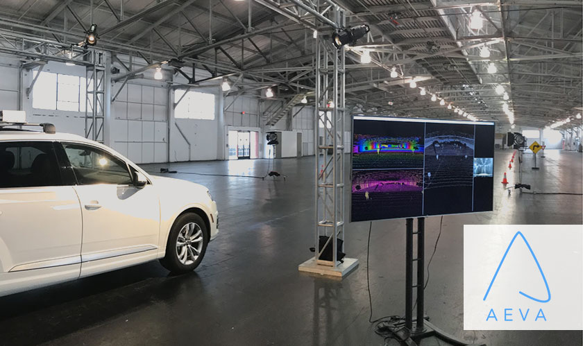 Aeva's 4D LIDAR system for self-driving cars also measures the velocity