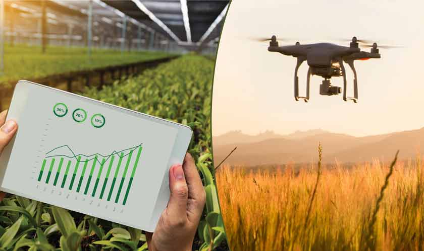 Agriculture has lot more to do with technology