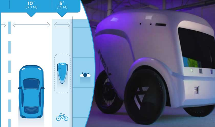AI Startup Plans to put Robots in Bike Lanes
