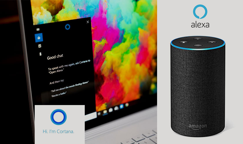 alexa cortana new integration