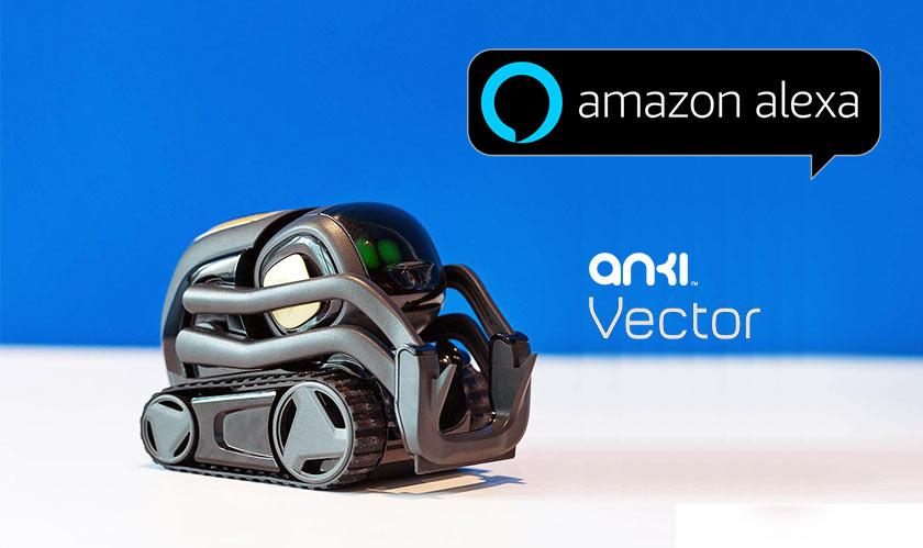 Access Alexa on Anki's Vector robots