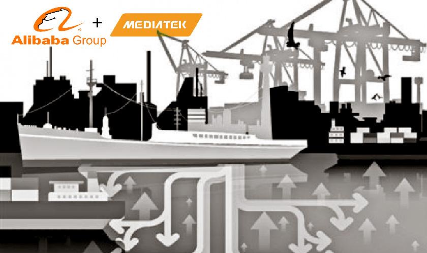 alibaba collaborates chipmaker media tek