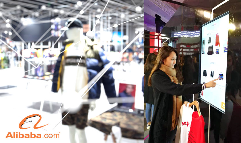 alibaba introduces fashionai store