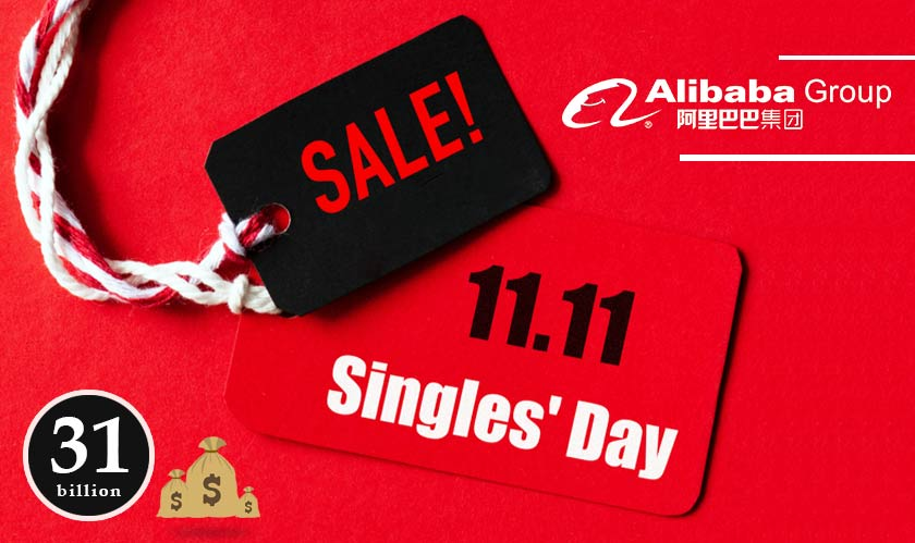 Alibaba brings in $31 billion in its Singles' Day sales