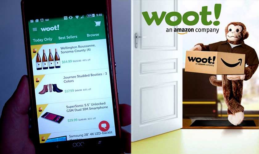 Amazon adds free shipping from Woot! For Prime members