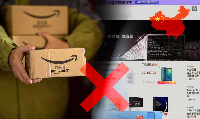 Amazon to shut its Online Store in China