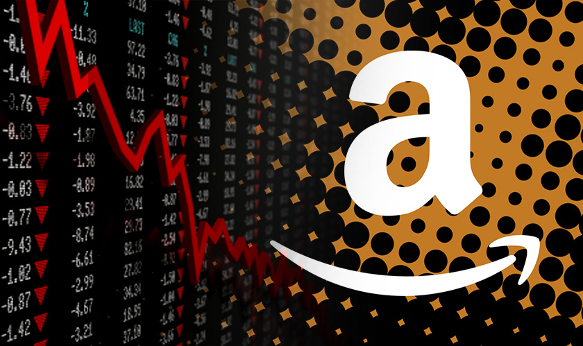 Amazon shares sink, but it is well-heeled in North America