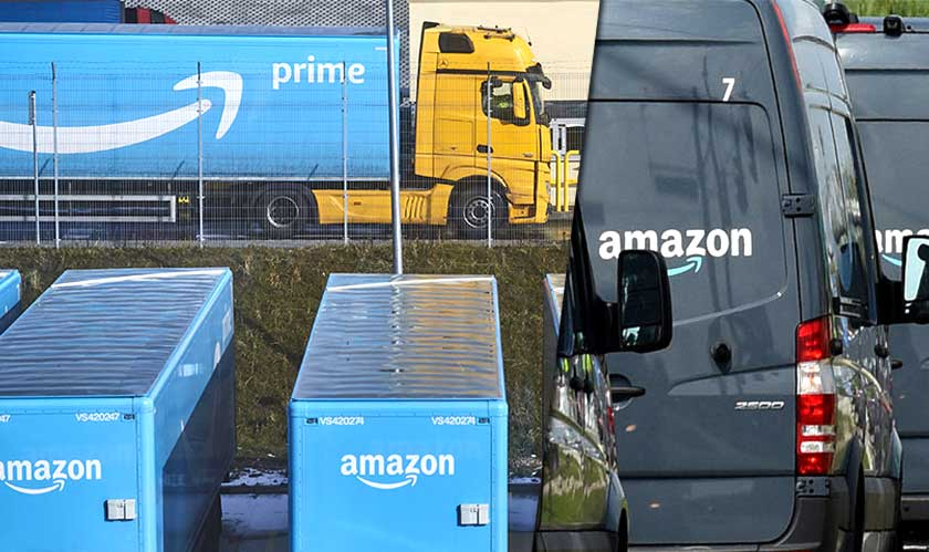 retail amazon expanding into transportation industry