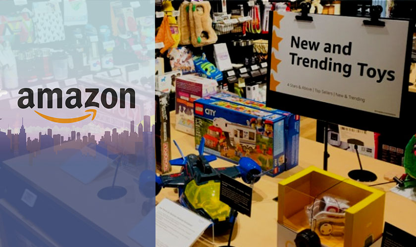 The first Amazon 4-star store opened in New York