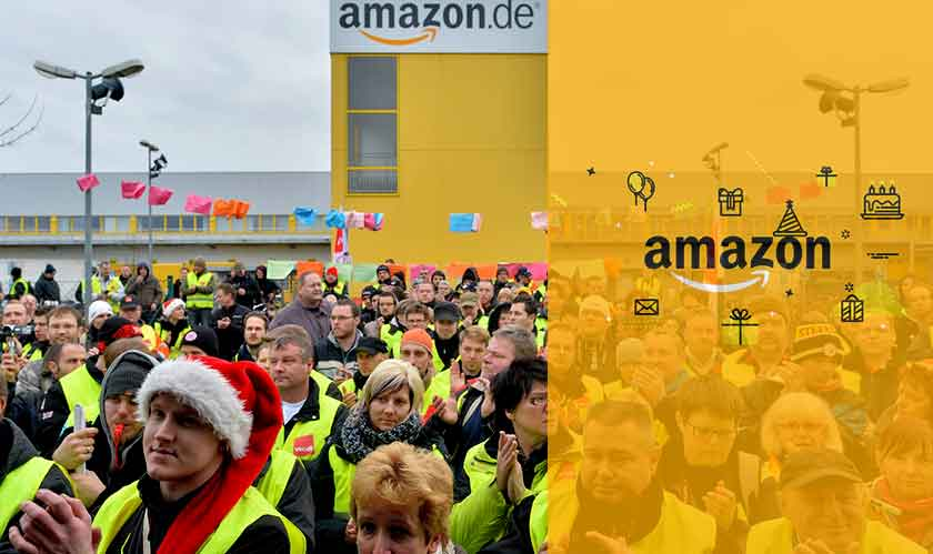 Amazon employees in Germany go on strike, demand better work conditions