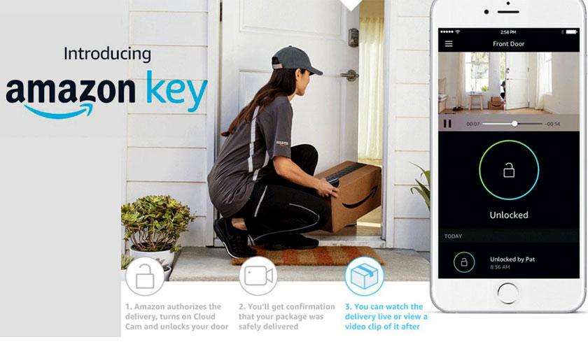Amazon key is idiosyncratic!