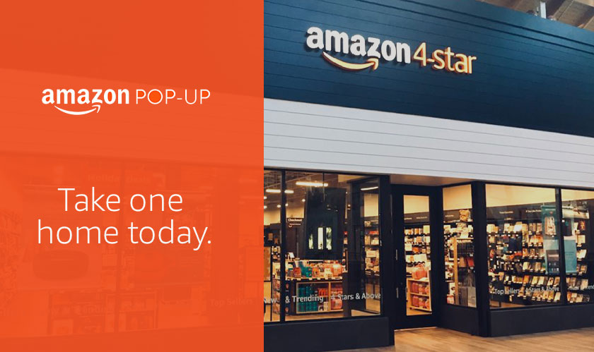 Amazon pops open another 4-star store