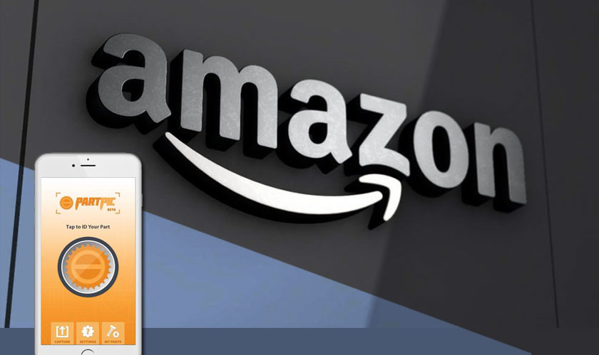 Amazon uses Partpic's Computer Vision Technology in its iOS App