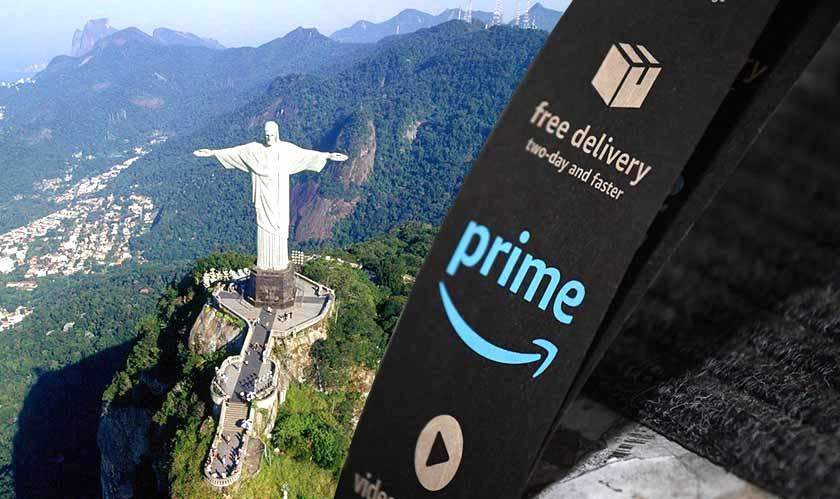 Amazon launches its Prime service in Brazil