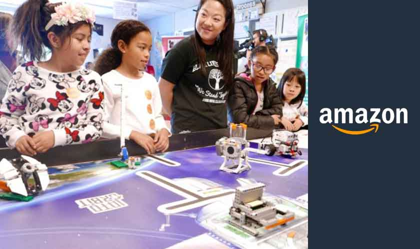 STEM programs funded by Amazon reaches Seattle schools