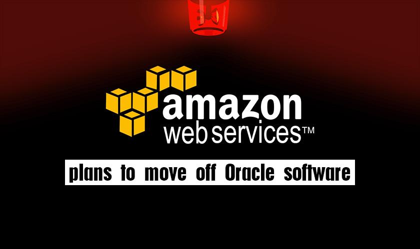 amazon terminates oracle software