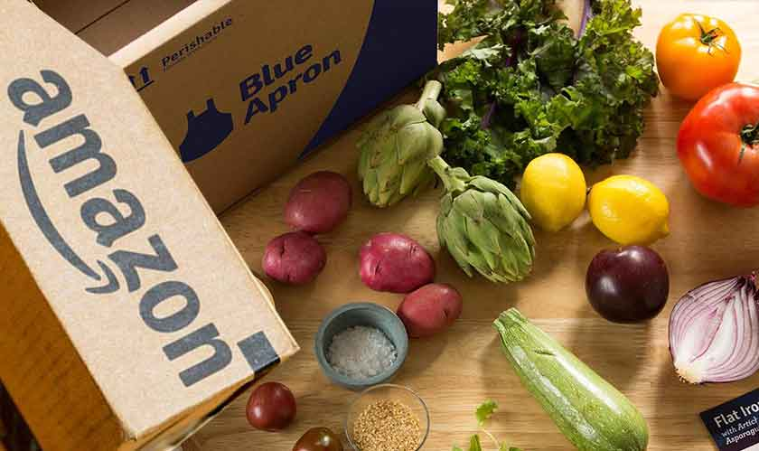 Blue Apron's stock crash as Amazon registers new trademark