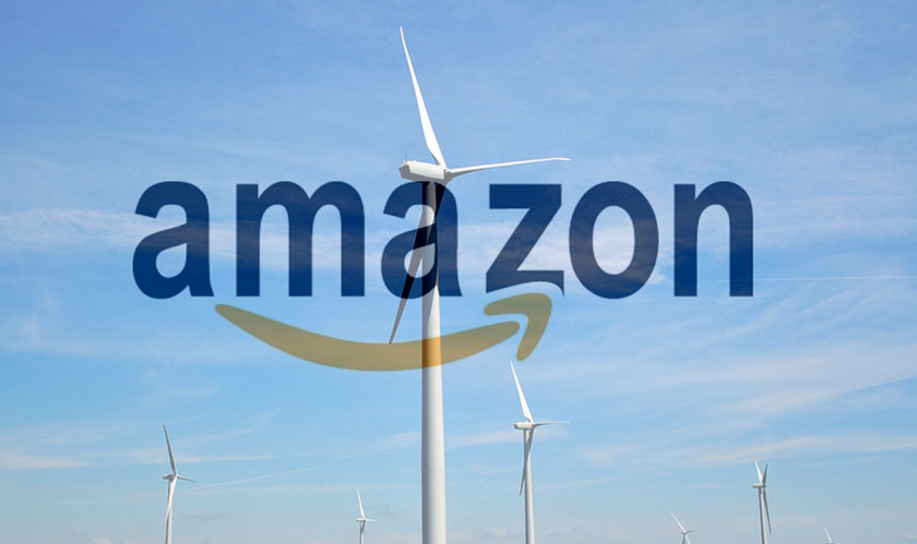 Amazon's latest venture: a large wind farm in Texas