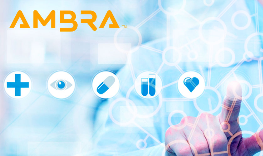 Ambra offers cloud-based tools to two healthcare industries