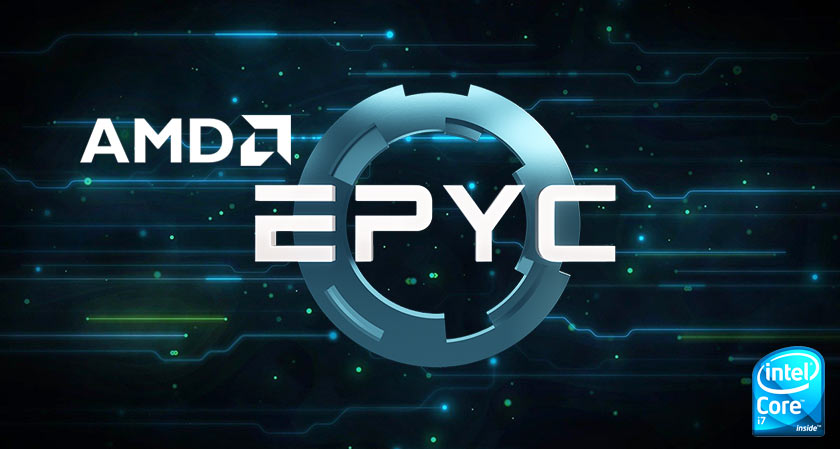 amd enters intel market with new line of server chips