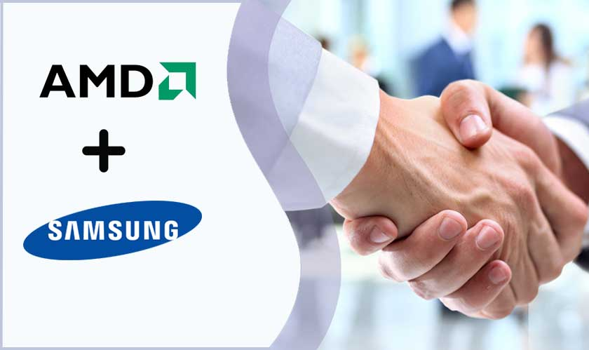 AMD and Samsung forge a new strategic partnership
