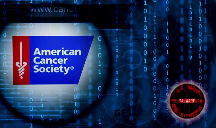 american cancer society malware