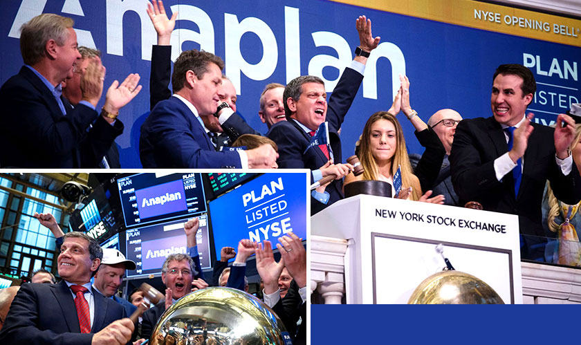 anaplan debuts well in market