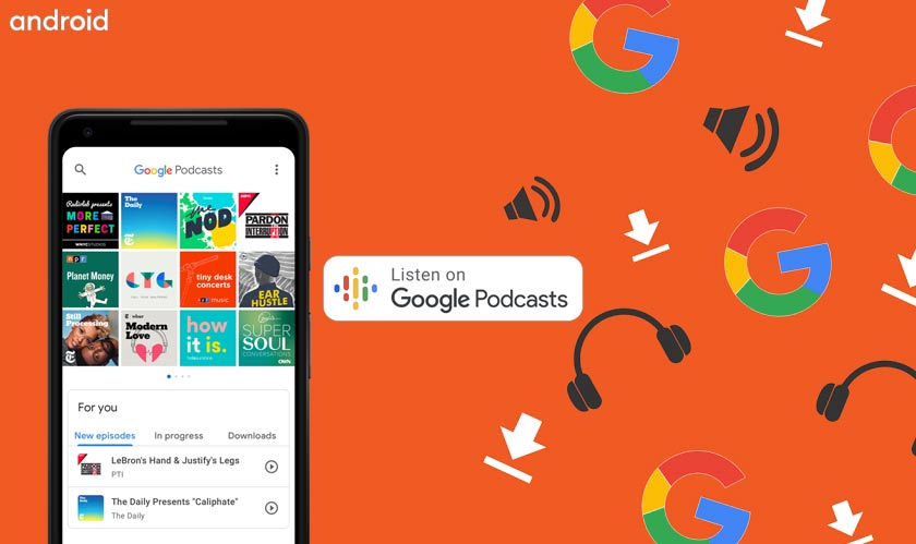 android google podcasts