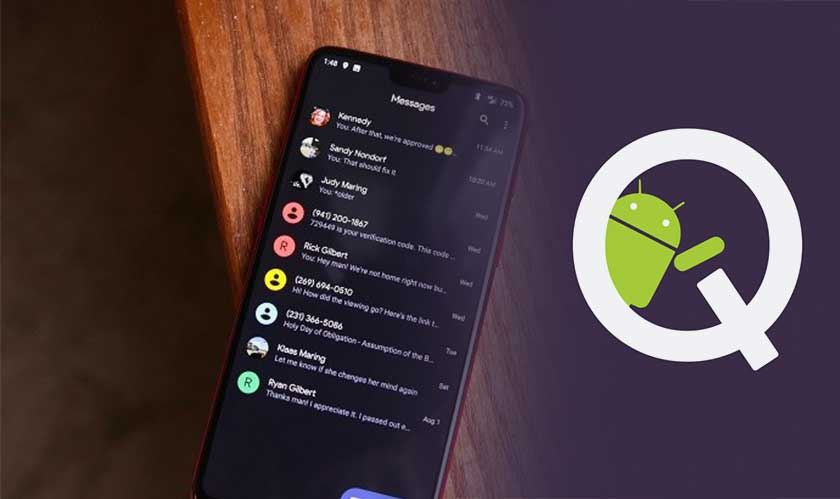 Google's mobile OS – Android Q, is getting darker and flexible