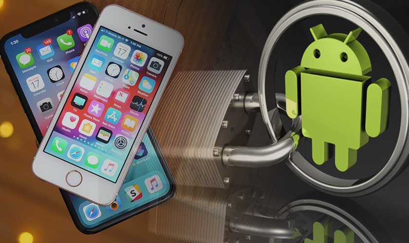 Android devices function as physical security key for iOS devices