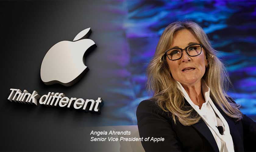 Angela Ahrendts to exit Apple in April