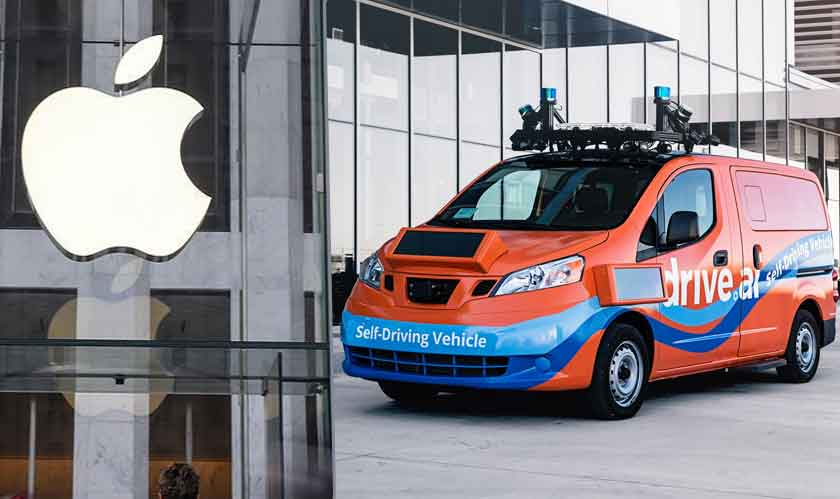 Drive.ai comes under Apple's umbrella