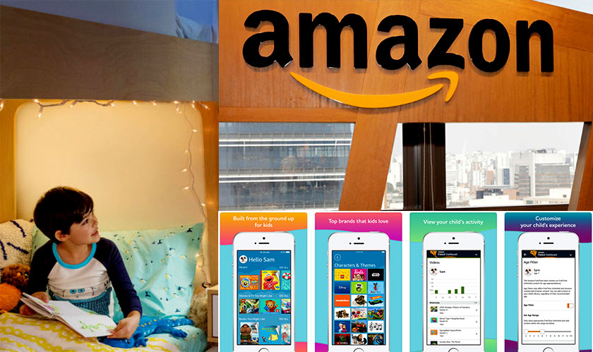 Kids-friendly Amazon FreeTime launched on iOS