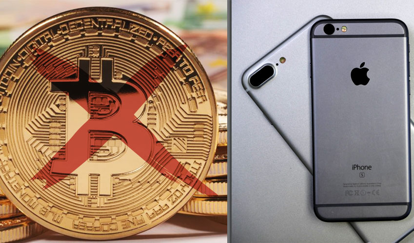 cyber security apple bans cryptocurrency mining
