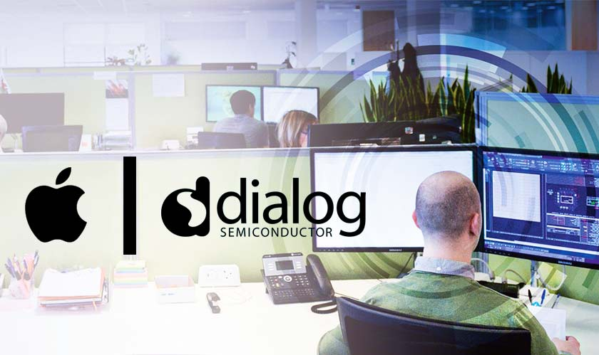 apple buys part of dialog